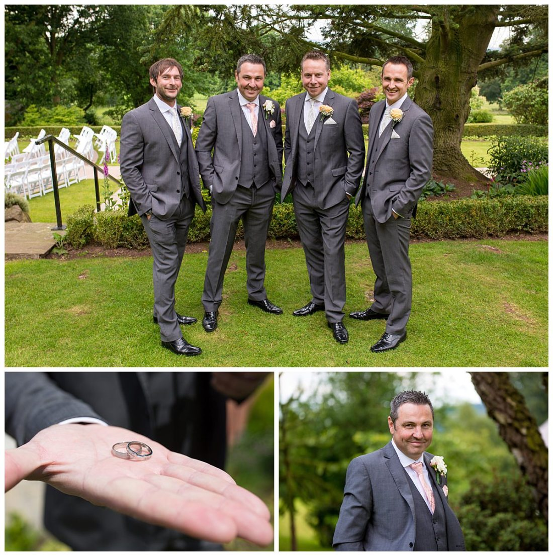 Upper House Barlaston Groomsmen