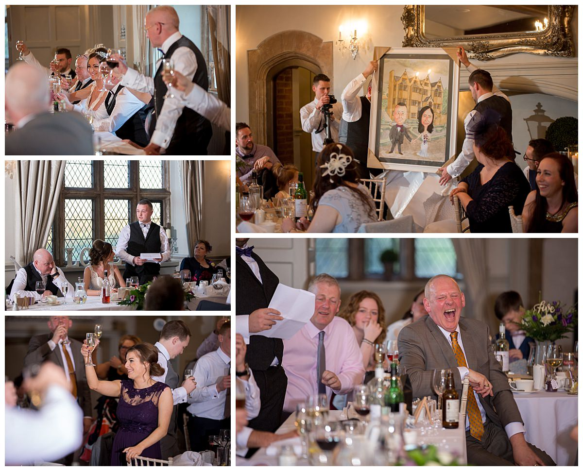 Weston Hall Wedding Speeches