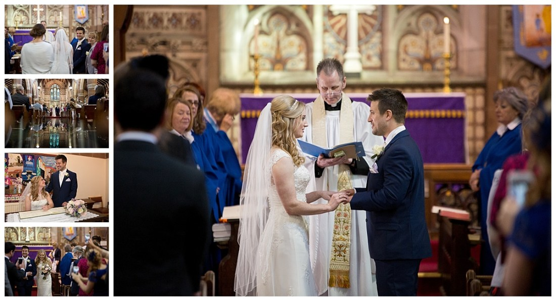Christleton Church Wedding