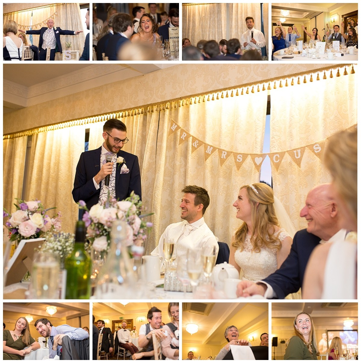 Speeches at Willington Hall Cheshire