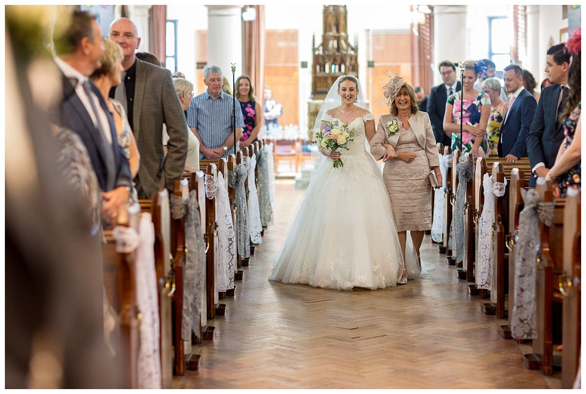 St Peter's Church Woolton Wedding