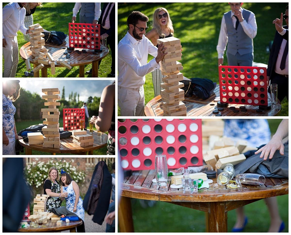 Wedding Outdoor Games at Willington Hall