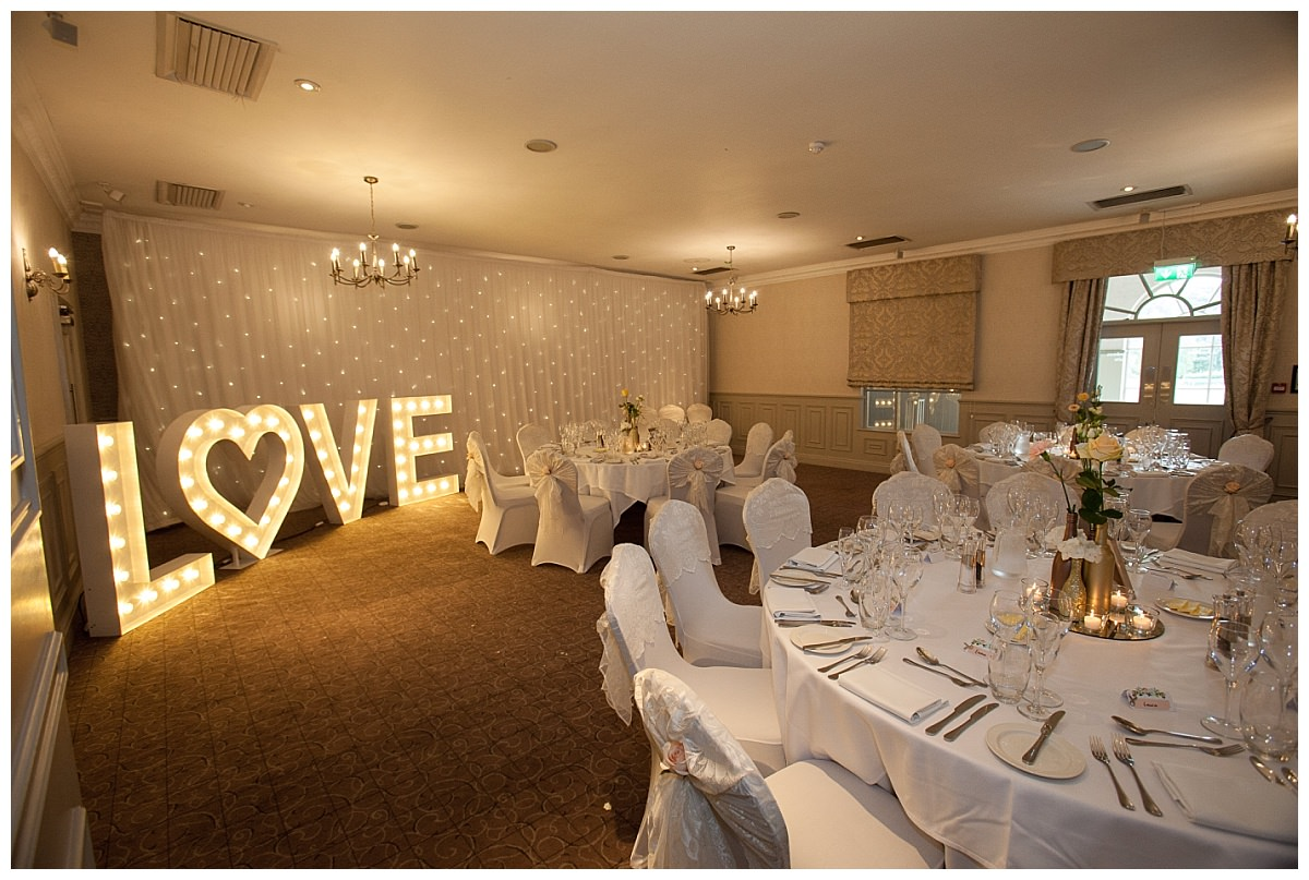 Love letters at Mottram Hall