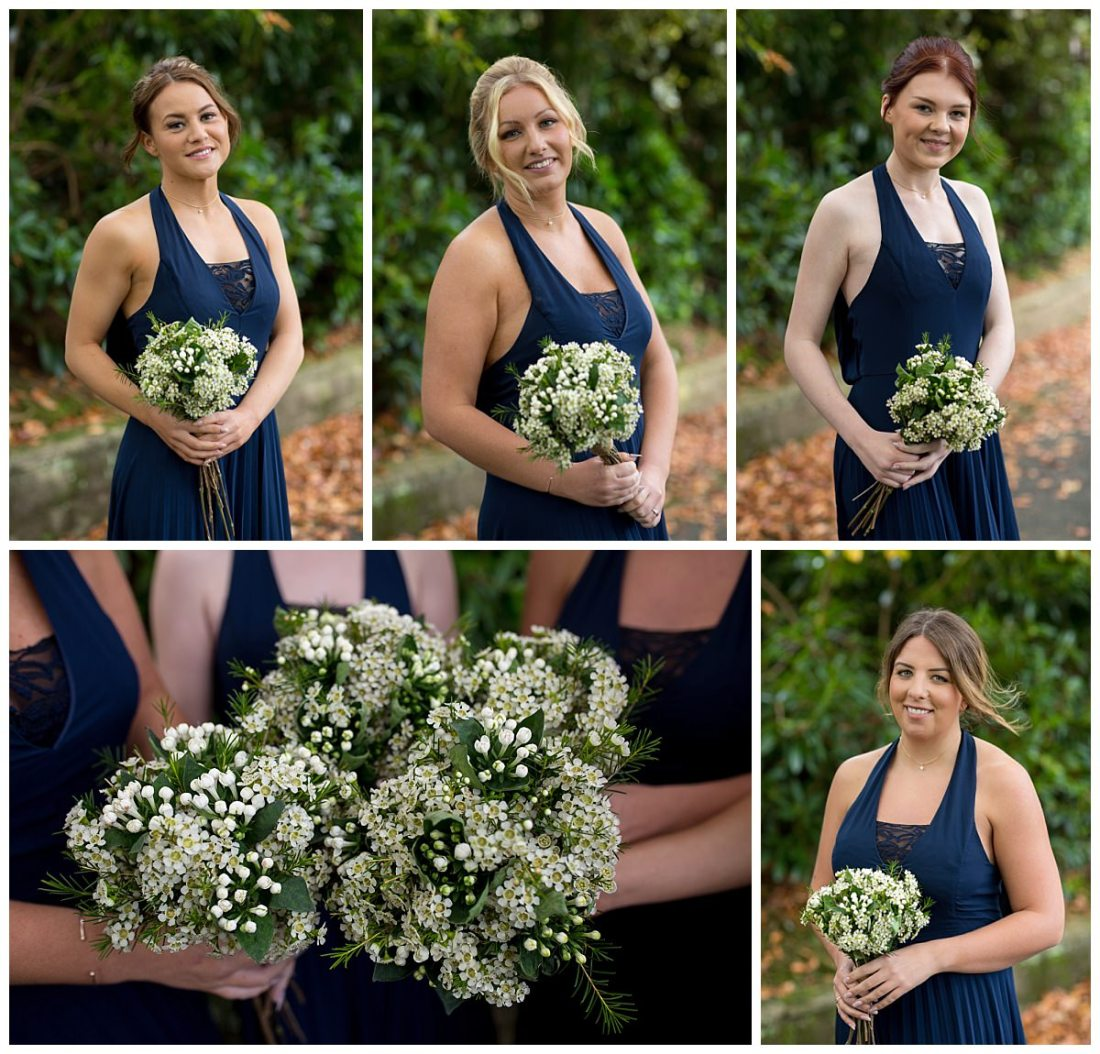 Bridesmaids at The Raithwaite Estate Whitby