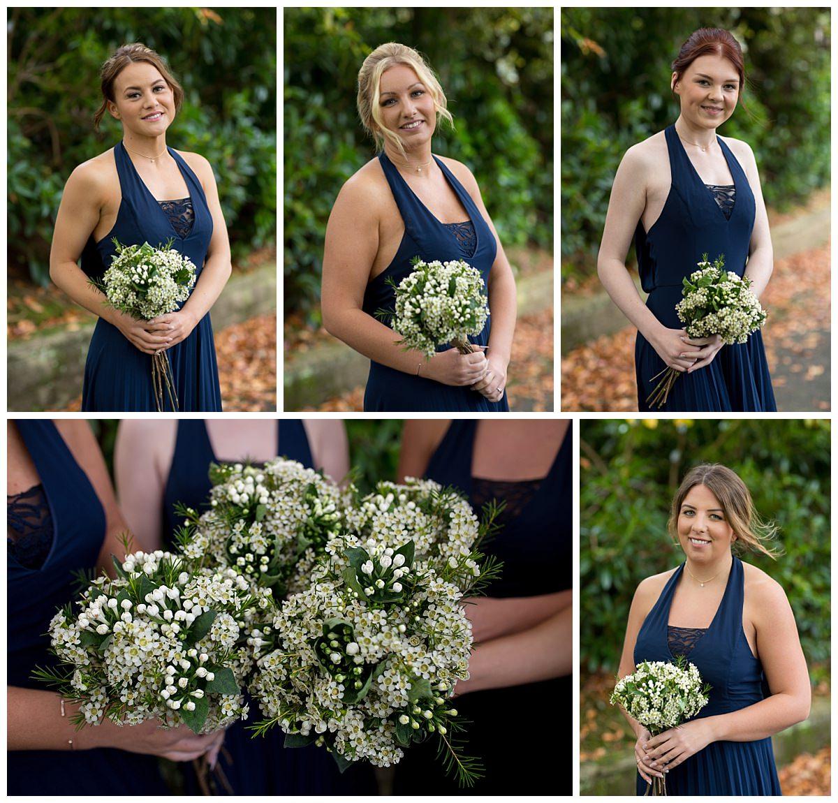 Bridesmaids at The Raithwaite Estate Whitby