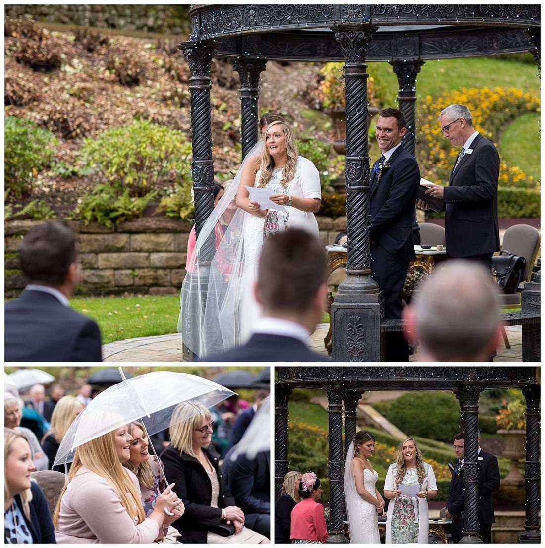 Wedding ceremony ready at The Raithwaite Estate