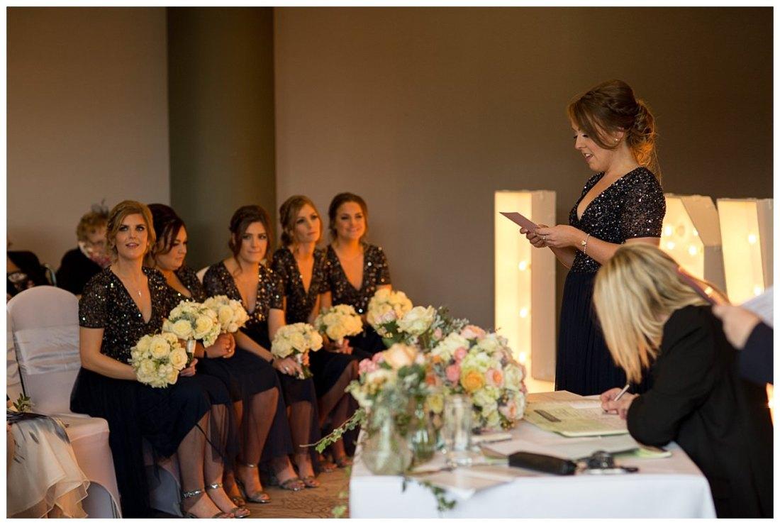 Wedding reading