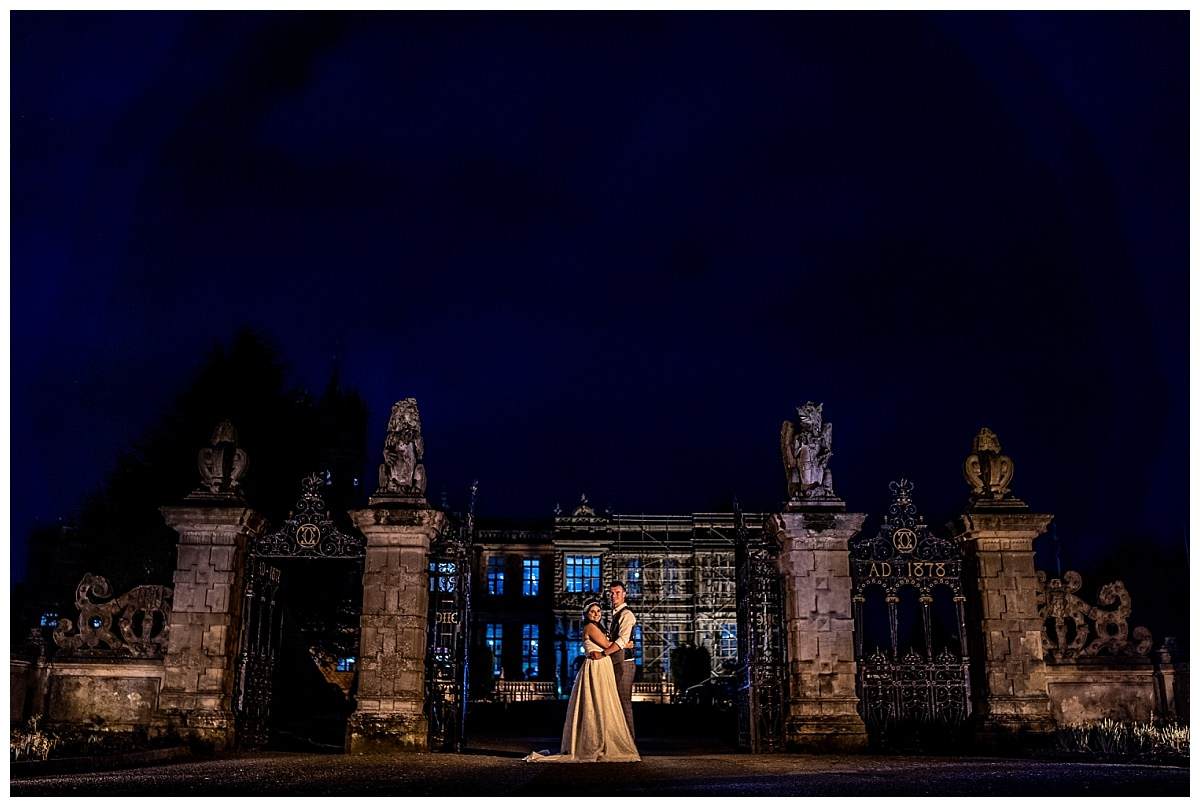 Wedding Photographs at Crewe Hall