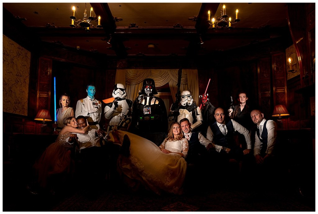Star Wars Day Wedding