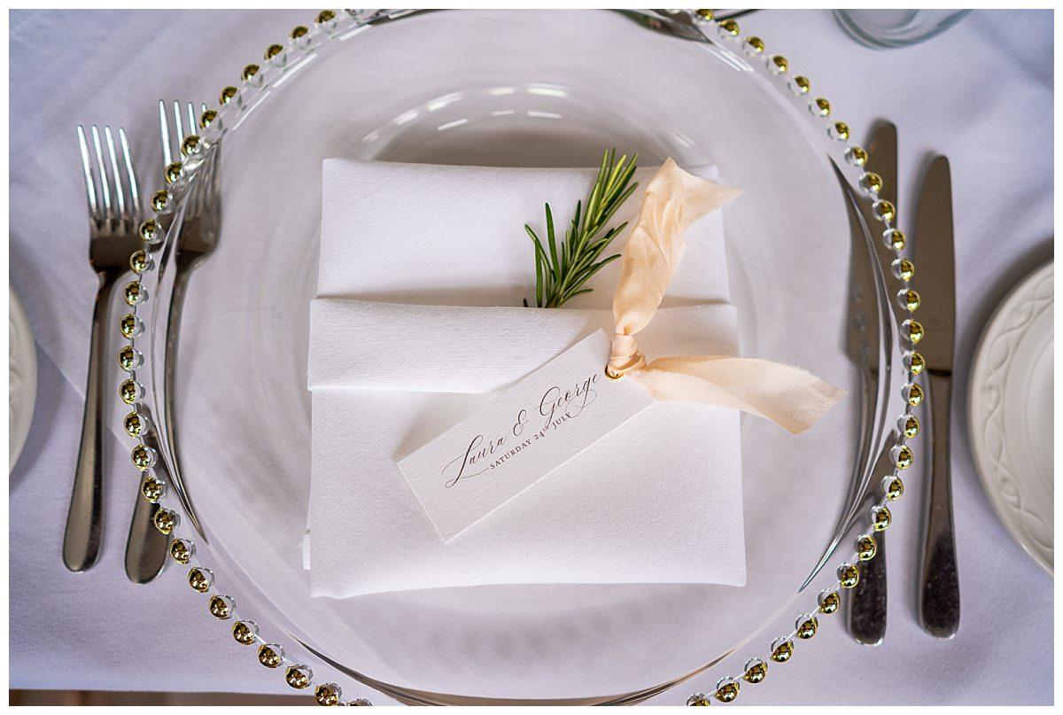 Standon Hall wedding stationary