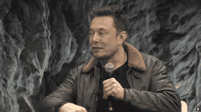 "Elon Musk: ""Earth is the cradle of humanity. Staying in the cradle forever is plain stupid."""