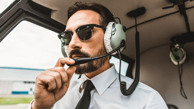 Onboard narration on helicopter tours