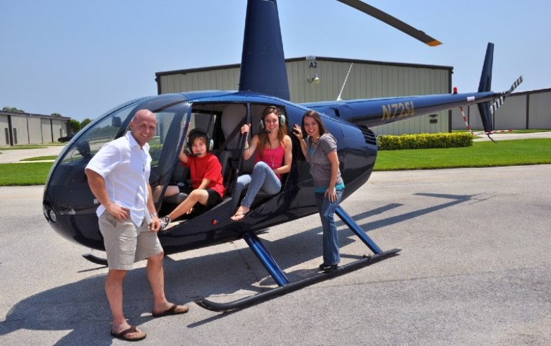 Jeans are best for heli tours