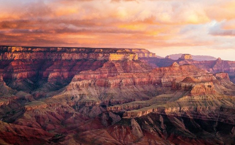 Sunset at Grand Canyon West