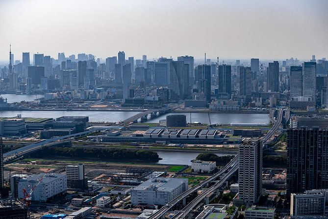 Tokyo skyline from the air