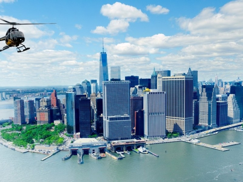 Helicopter tour in New York