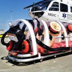 MEDIC1 vliegt Corona patiënten in speciale Isolator