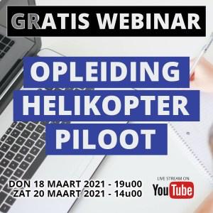Webinar Opleiding helikopterpiloot