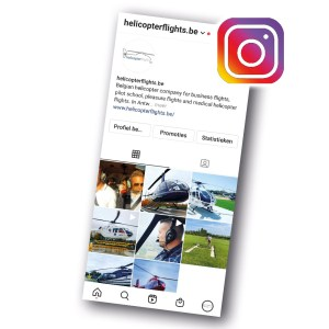 Instagram helikopter helicopterflights.be
