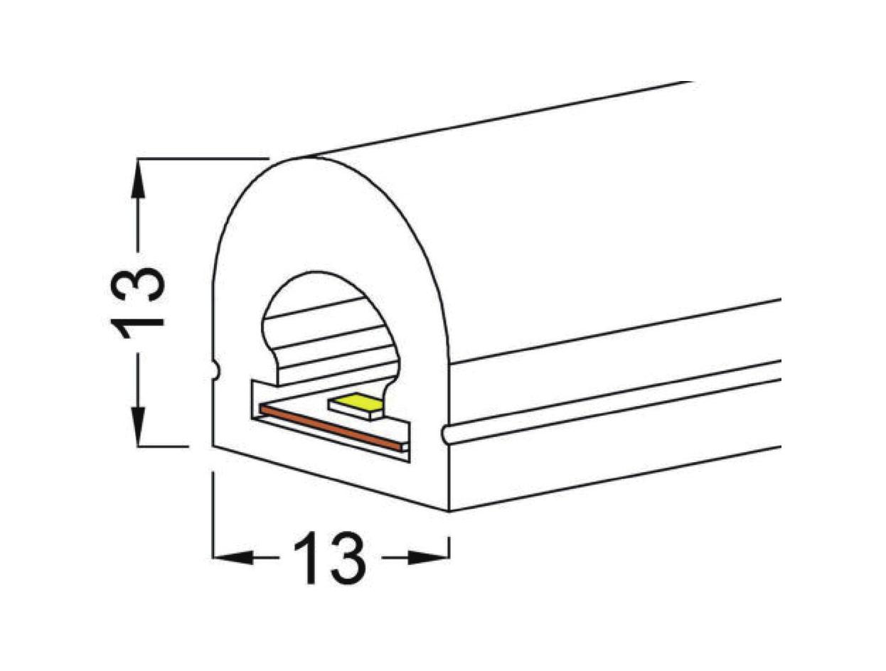 Heliflex 13 13 Neon Flex Top Bend