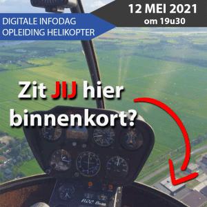 Opleiding helikopter piloot Knokke