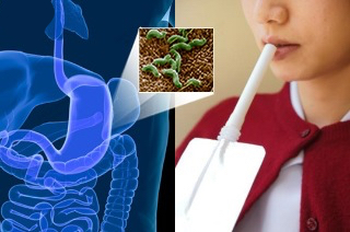 dychový test helicobacter pylori