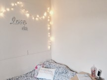 Comfy Blanket & Fairy Lights