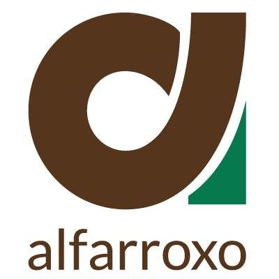 Alfarroxo Logotipo