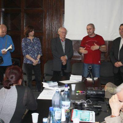 Lansare de carte cu Daniela Faur, Liviu Surugiu, Eugen Cadaru