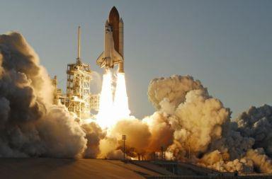 Lansarea navetei spațiale americane. Foto: NASA