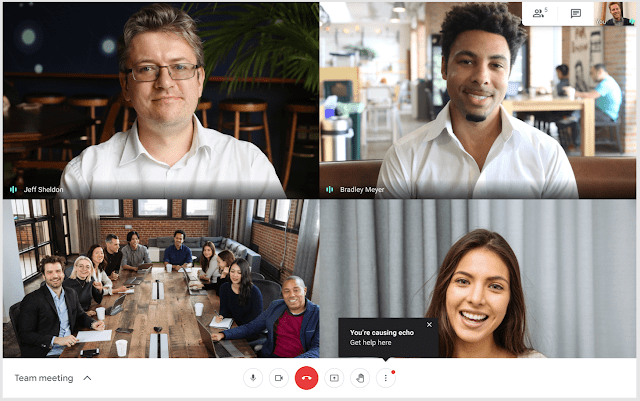 Is this the end of echo on Google Meet calls? Let's all hope so.