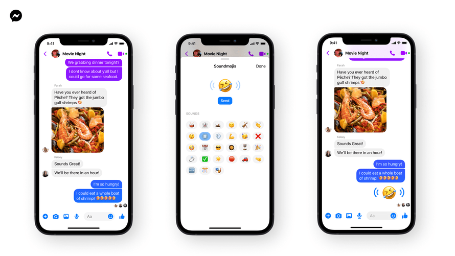 Soundmojis are emoji with some vocal personality.