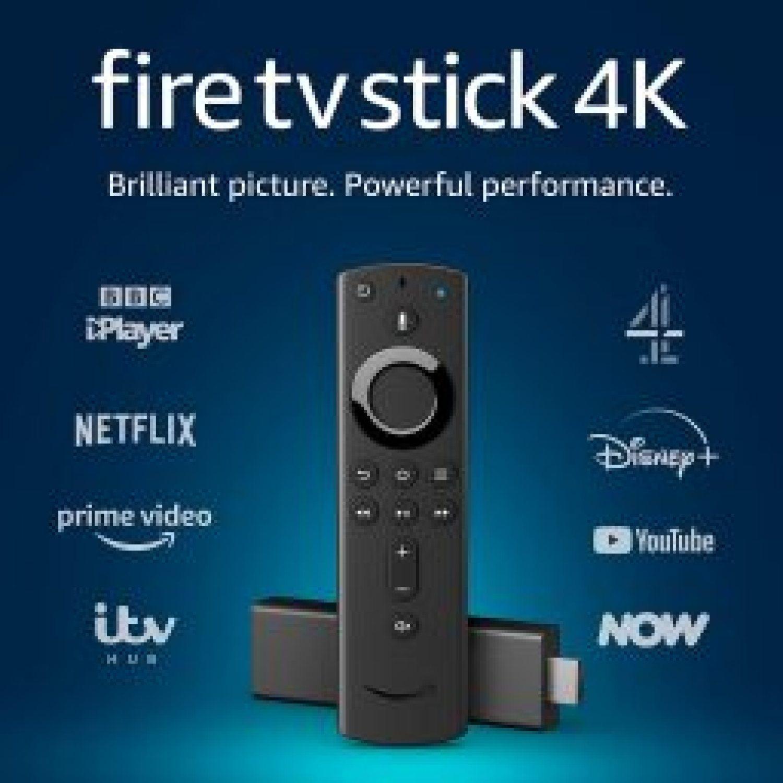 Save 40% on the Fire TV Stick 4K