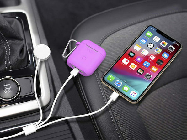Charge up on-the-go.