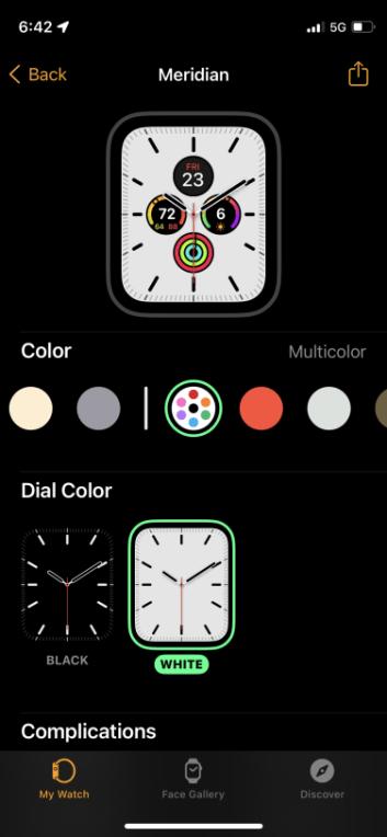Apple Watch duvar kağıdı nasıl değiştirilir?