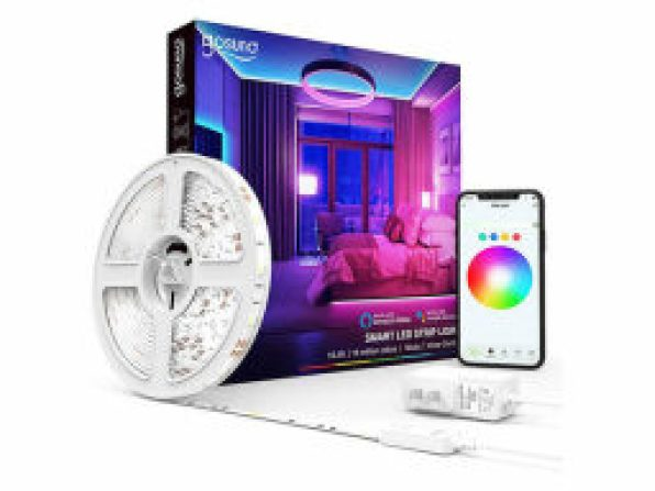 Gosund Smart RGB LED Light Strip with Voice Control and Music Sync — $14.99
