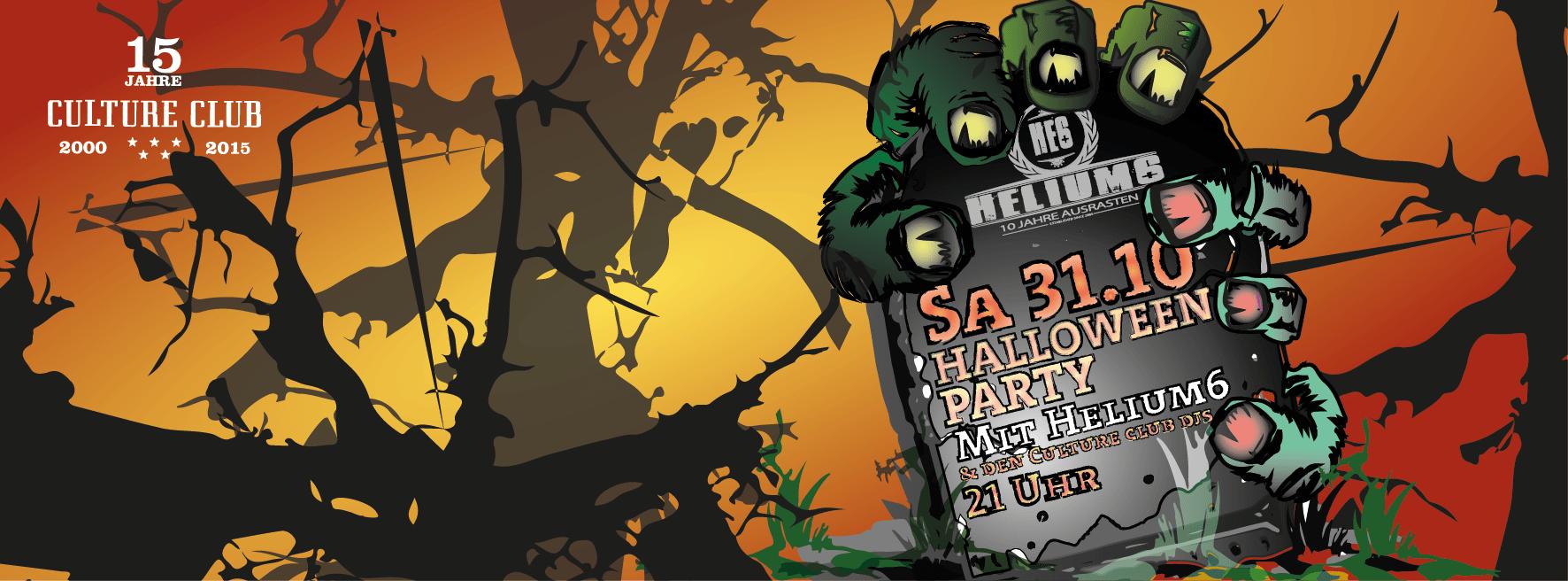 helium6 Halloween 2015