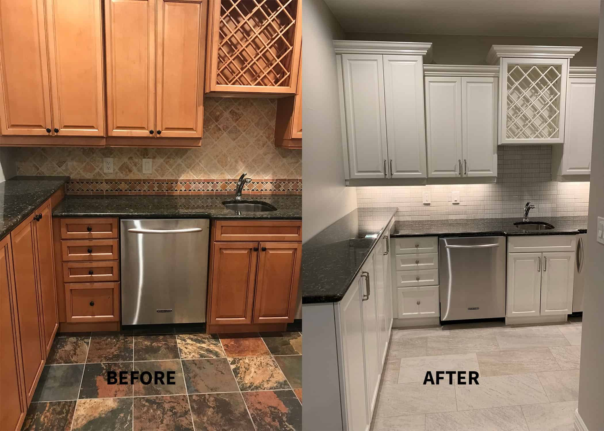Should I Paint My Kitchen Cabinets Helix Painting