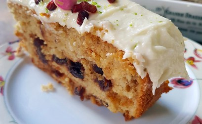 cake Canneberges et Citron Vert
