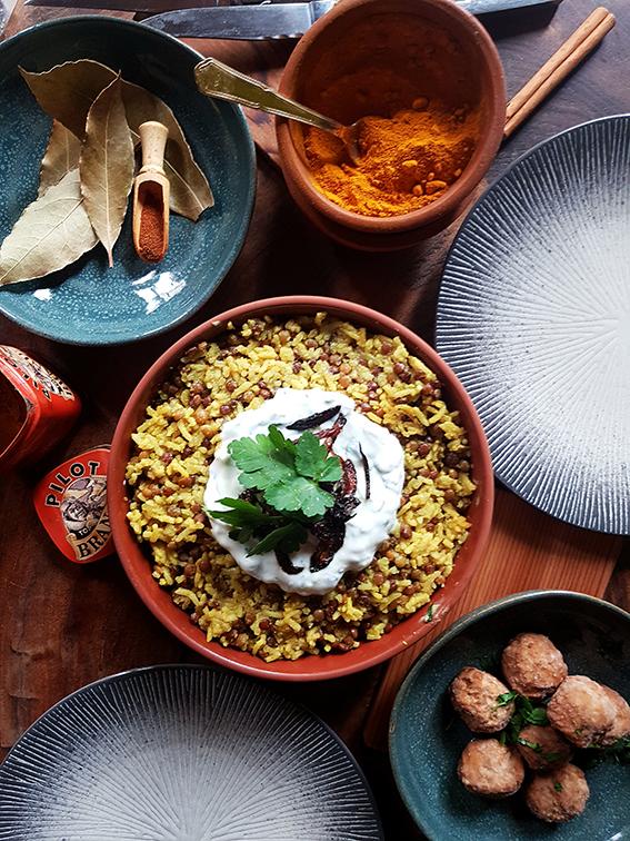 Riz aux Lentilles à la Libanaise