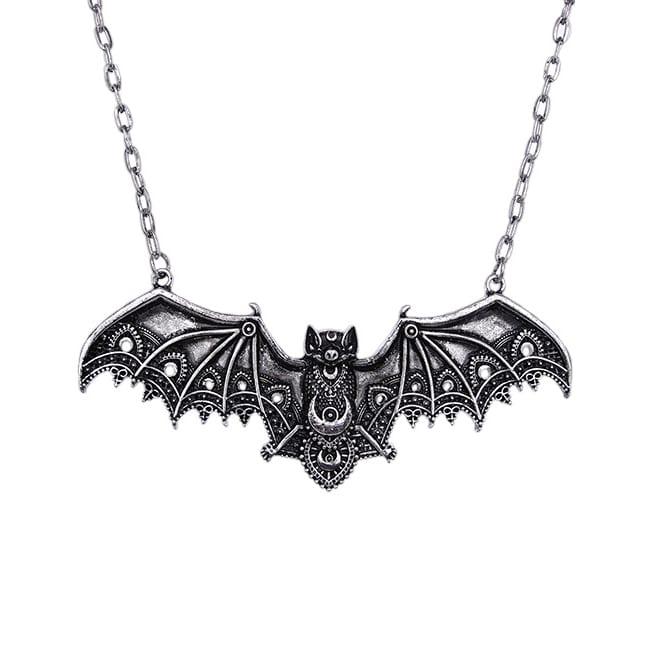 Restyle.pl Lace Bat Wing Necklace