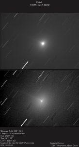 Εικόνα (α) του VZ13 LINEAR στις 13 Ιουλίου 2007, από τον Δημήτρη Κολοβό.