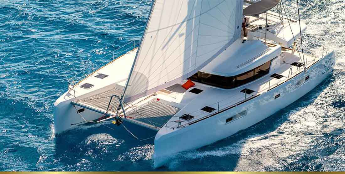 Crewed Catamarans Charter in Greece - Catamaran Charter Greece - HELLAS YACHTING