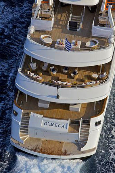 Motor Yacht O'MEGA - Super Yachts Charter Greece, Monaco French Riviera - HELLAS YACHTING