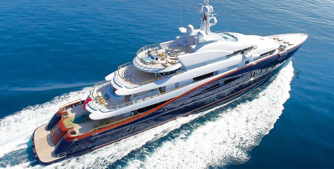 Super Yacht NIRVANA - SUPER YACHTS CHARTER GREECE, MONACO, FRENCH RIVIERA - HELLAS YACHTING