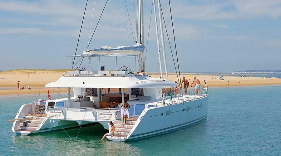 NOVA Crewed Catamaran Charter in Greece - HELLAS YACHTING