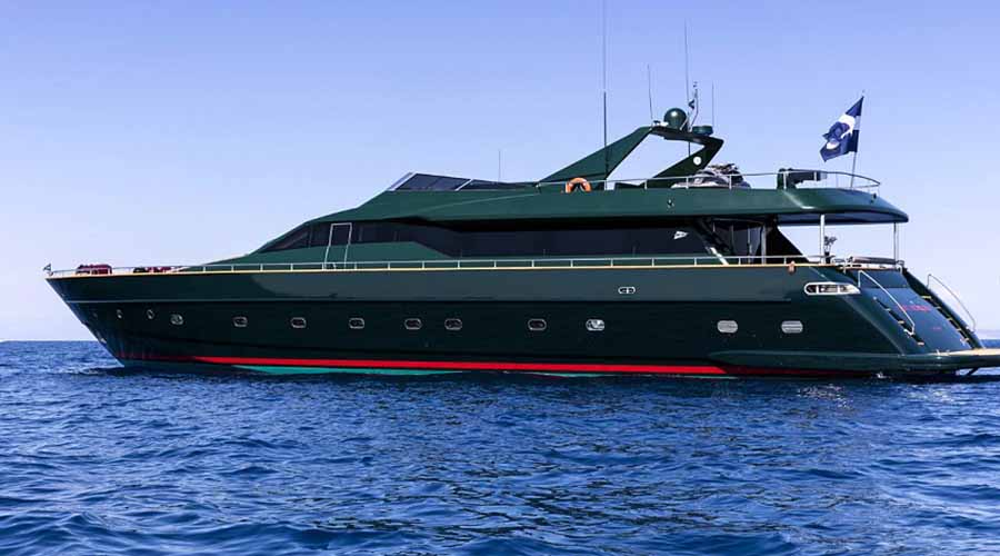 Motor Yacht CAN'T REMEMBER for charter in Greece with HELLAS YACHTING