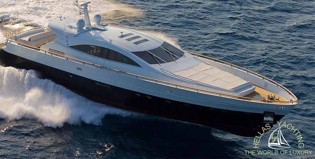 Motor Yacht Kambos Blue - Luxury Yachts Charters in Greece with HELLAS YACHTING