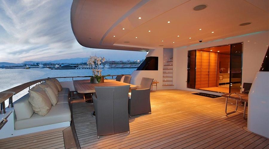 MABROUK - Luxury Charter Motor Yacht 130 ft. - HELLAS YACHTING