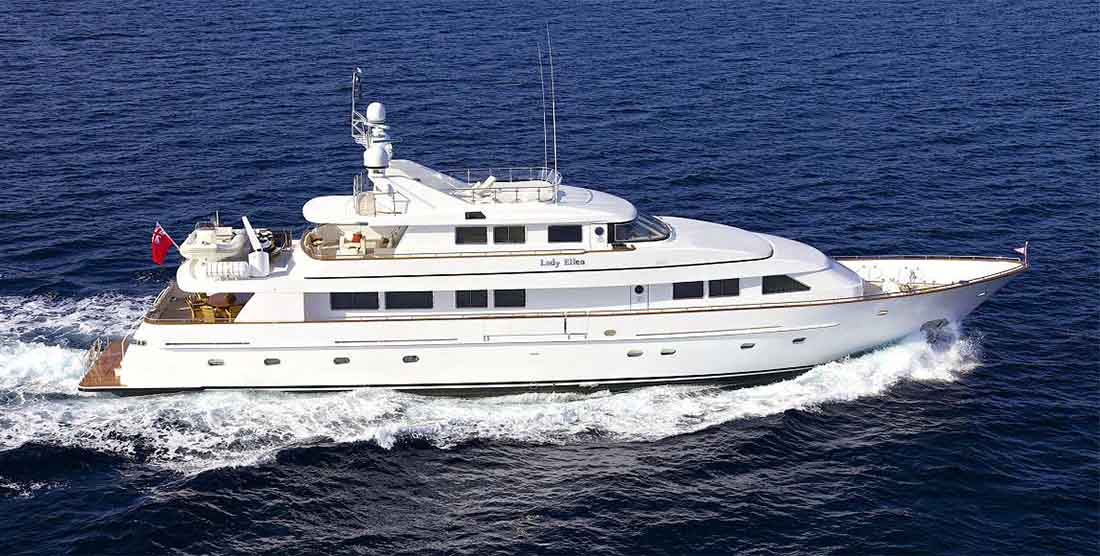 LADY ELLEN - Luxury Motor Yacht Charter in Greece - HELLAS YACHTING